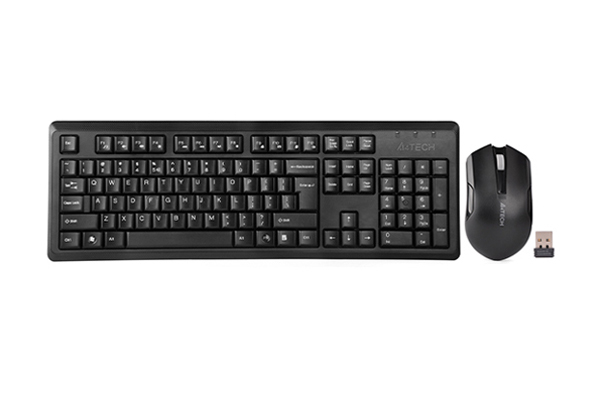 Image result for A4Tech Wireless Keyboard & Mouse (4200N)