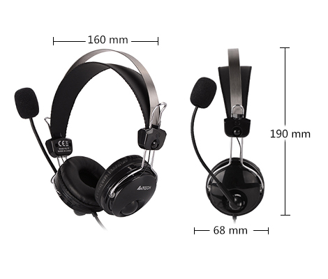 ComfortFit Stereo Headset(HS-7P)  